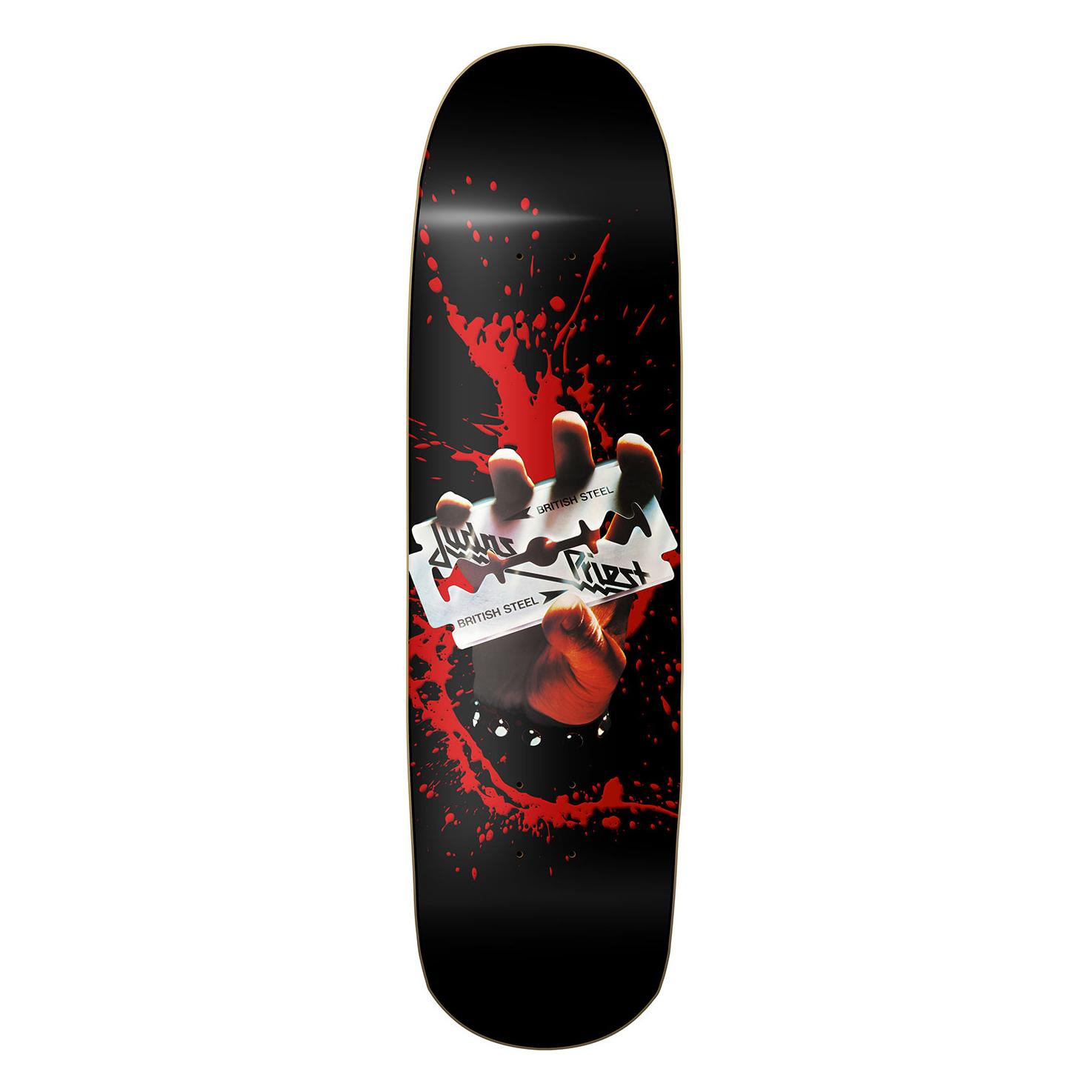 """7,5/""""  Deck  schwarz NEU Gastlando result Skateboard Deck Blank 31,5/"""""""