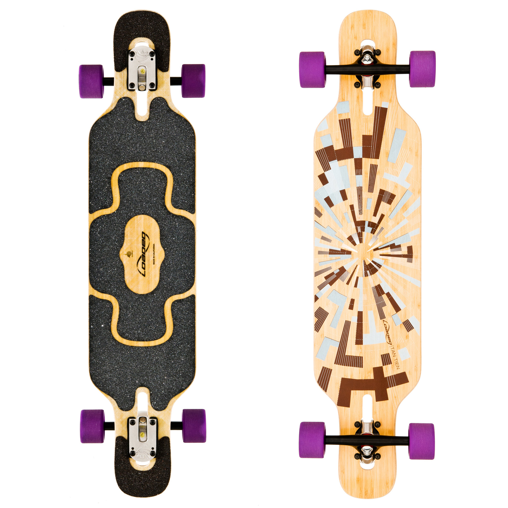 Loaded Longboard Komplettboard Tan Tien Drop Through 99cm